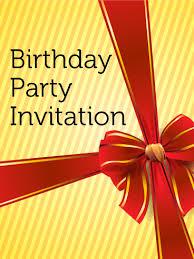 blue flower invitation card birthday greeting cards by davia