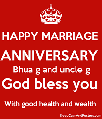 Top 10 Happy Marriage Anniversary Happy Marriage Anniversary Bhua G And Uncle G God Bless You With