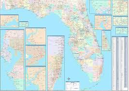 florida towns map florida zip code map