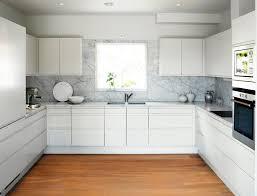 modern white kitchen backsplash simple modern white kitchen marble slab backsplash clutter