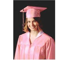 pink cap and gown graduation gown collar best seller dress and gown review