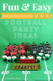 football party ideas easy football party ideas s
