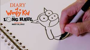 diary of a wimpy kid the long haul how to draw the pig 20th