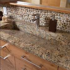 tile backsplash ideas bathroom river stones bathroom backsplash home interiors