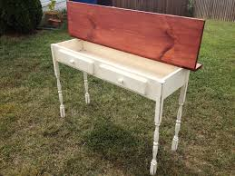 ana white flip top console table diy projects