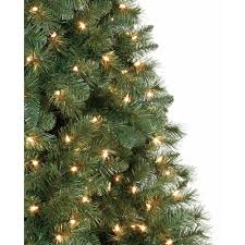 artificial christmas tree pre lit 6 5 u0027 windham pine clear lights