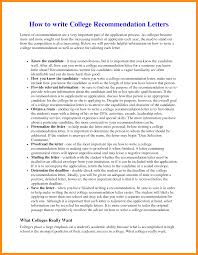 6 write a recommendation letter agenda example