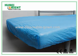 breathable sheets breathable cpe disposable bed protectors hospital bedding sheets
