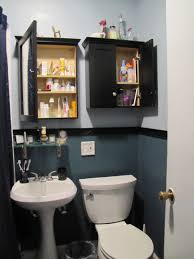 bathroom cabinets behind toilet storage over the john cabinet