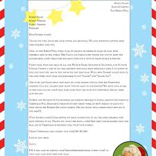father christmas letter templates free best letter from santa template letter format writing letter from santa template free printable
