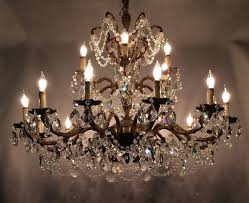 inspiration antique brass chandelier with classic home interior