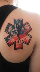 emt tattoo with flag background by dannewsome on deviantart