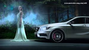 mercedes tv commercial a 45 amg tv commercial three steps