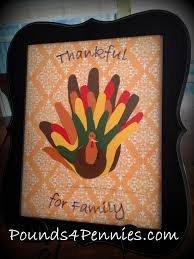 hand print turkey munchkins and mayhem