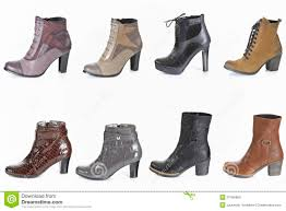 womens boots types different types of boot stock photography image 27456662