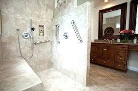 handicap bathroom design handicap accessible bathroom shower large size of bathroom designs