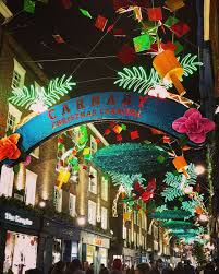 carnaby street christmas lights are switching on today