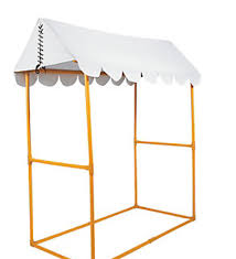Tent Awning Carnival Props Circus Party Backdrops Standees Large Party Props