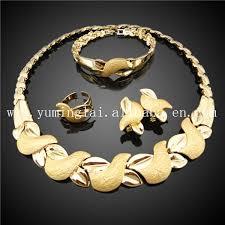 gold set saudi arabian 18k gold jewelry set buy 18k gold
