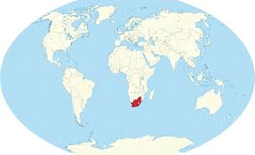 Africa On Map by Where Is South Africa On The World Map