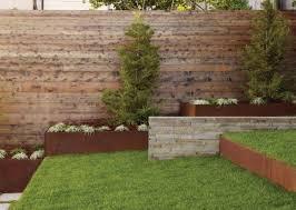 16 corten steel landscaping ideas for garden design balcony