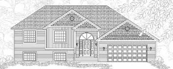 raised bungalow house plans adorable bungalow style raised ranch house plan wilmar