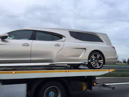 porsche truck 2016 porsche panamera hearse snapped in the wild gtspirit