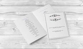 where to print wedding programs wedding program templates editable pdf 8 5 x 11 printable black