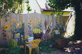 image result for painted fence murals pinterest painted