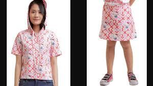 Batik Bateeq kolaborasi dengan sanrio bateeq hadirkan koleksi batik dengan hello