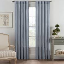 Cotton Drapery Panels Buy 100 Cotton Curtain Panels From Bed Bath U0026 Beyond