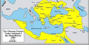 Map Of Ottoman Empire 1500 Ottoman Empire Map Timeline Spotthevuln