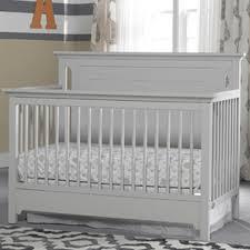 Solid Back Panel Convertible Cribs Ti Amo Palazzo 4 In 1 Convertible Crib Grey Babies R Us