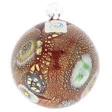 tree ornaments murano glass medium millefiori