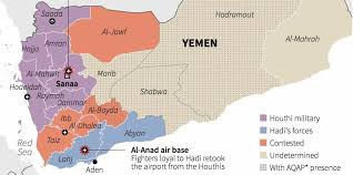 where is yemen on the map these maps where yemen s conflict could be heading business