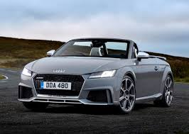 audi 2016 audi tt rs roadster 2016 photos parkers