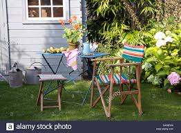 Refinishing Metal Patio Furniture - metal lawn chairs stock photos u0026 metal lawn chairs stock images