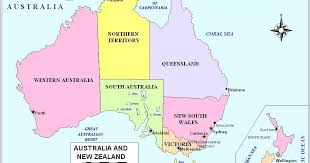 map of australia political maps australia political map