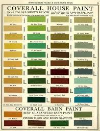 montgomery ward house paint colors 1915 historic paint colors