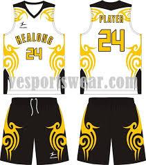 sublimation basketball jersey design basketball kit