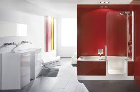 shower designs small red bathrooms plans for homes master ideas