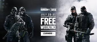 siege free free weekend on pc and xbox one rainbow six siege