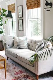 White Bamboo Blinds Ikea A Quaint And Character Filled New Jersey Home Living Rooms Room
