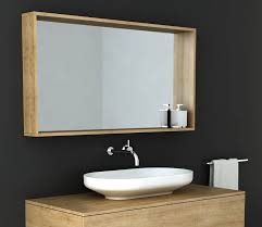 Framed Mirrors For Bathroom Vanities Venice Box Frame Mirror Omvivo