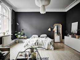 Black Walls In Bedroom | a dramatic swedish space with black walls my scandinavian home