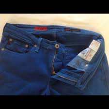 77 off ag adriano goldschmied denim used ag royal blue jeans