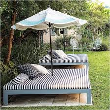 poolside furniture ideas create your own outdoor bed for laying out or snoozing great