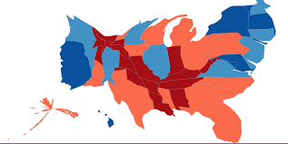 Bill Clinton Electoral Map This Election Map Is A Lie So We Made New Ones Kuow News And