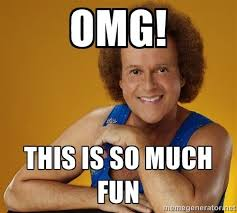 Meme Generateor - omg this is so much fun gay richard simmons meme generator on
