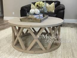 coffee table accents round farmhouse coffee table the kennedy coffee table round coffee